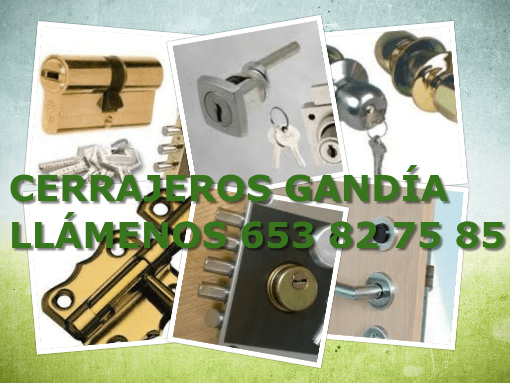 365 dias cerrajeros 24 horas gandia disponible
